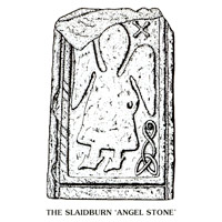 Angel Stone postcard