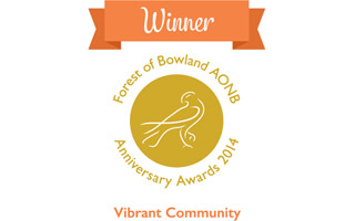 Vibrant community winner logo